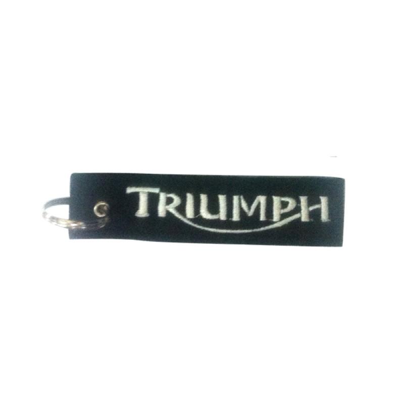 Μπρελόκ Μοτο Triumph Υφασμα