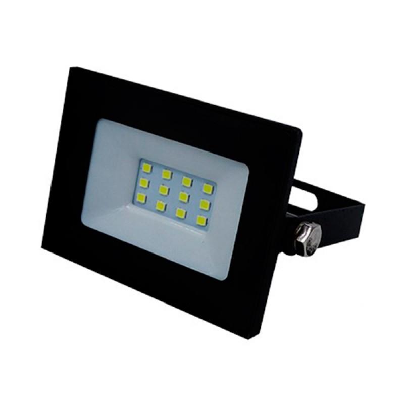 Προβολέας LED Slim Pad 10W 230v 1000lm 120° Αδιάβροχος IP66 Ψυχρό Λευκό 6000k GloboStar 11111