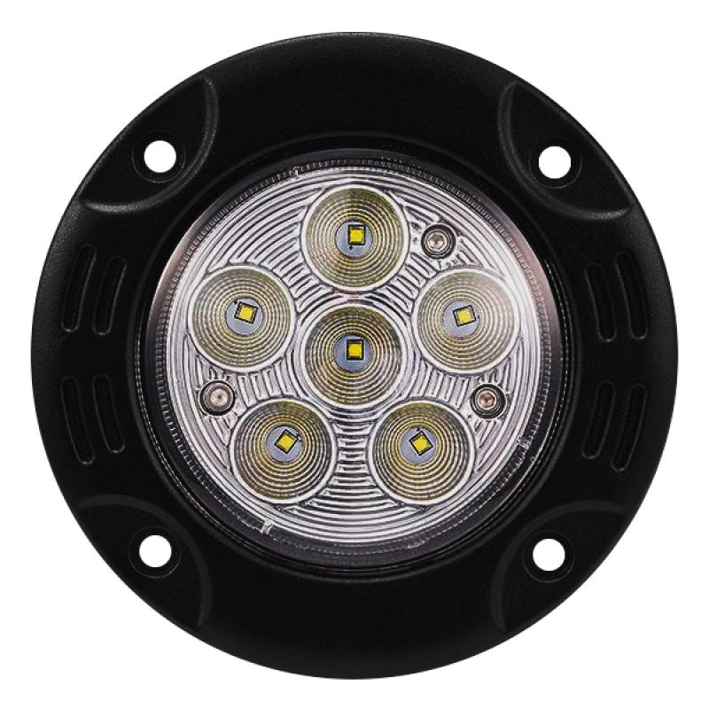 Χωνευτό Προβολάκι LED Στρογγυλό 30W 10-30V 4200lm 30° Αδιάβροχο IP65 Ψυχρό Λευκό 6000k GloboStar 29989