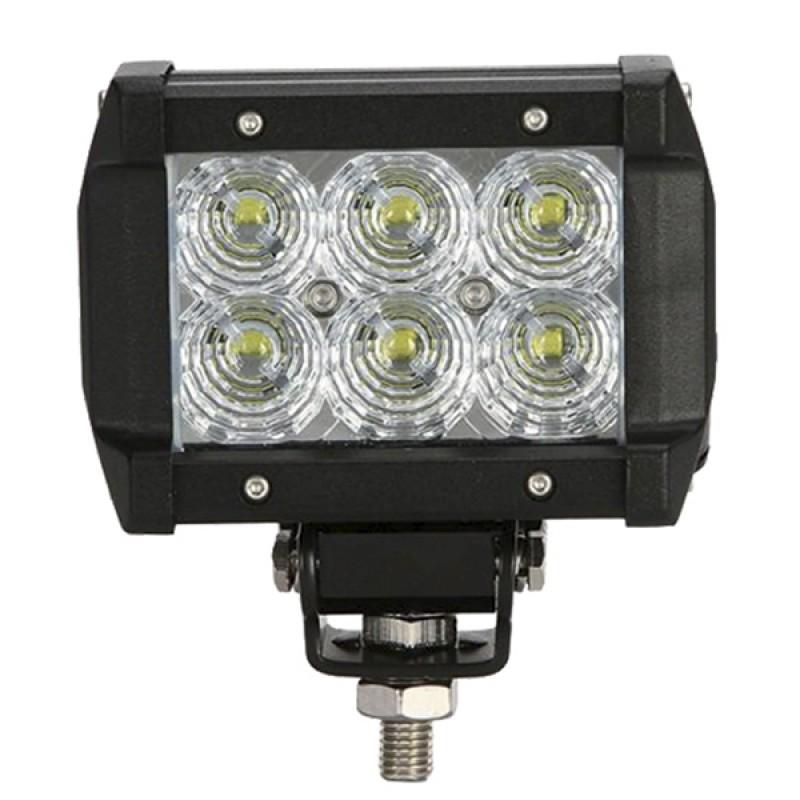 Mini Μπάρα Φωτισμού LED 18W 10-30V 2520lm 30° Αδιάβροχη IP65 Ψυχρό Λευκό 6000k GloboStar 29997