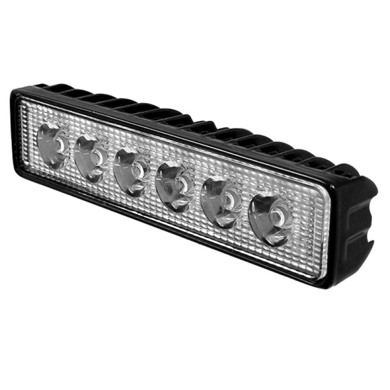 Μπάρα Φωτισμού LED 18W 10-30V 2520lm 30° Αδιάβροχη IP65 Ψυχρό Λευκό 6000k GloboStar 29998