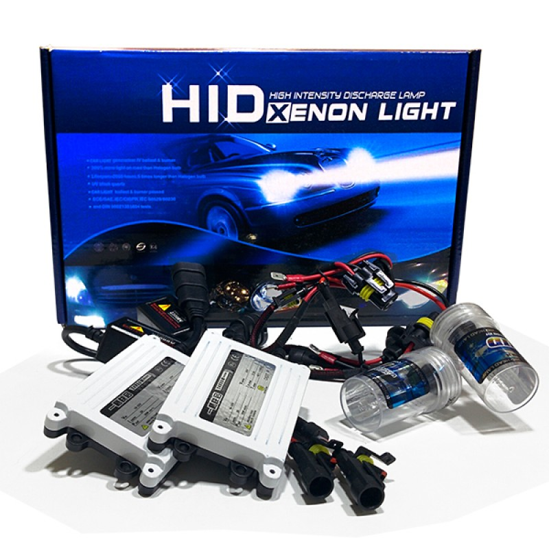 Σετ Φωτισμού Xenon Can Bus 55 Watt 24 Volt HB3 9005 Slim Ballast 6000k GloboStar 33729