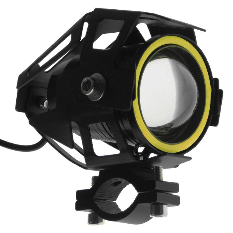 Προβολάκι LED U7 TRANSFORMER Cree LED 15W 12-80V 3000lm 35° Αδιάβροχο IP65 Ψυχρό Λευκό 6000k GloboStar 77660