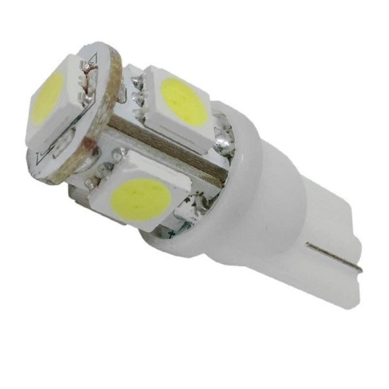Λαμπτήρας LED T10 με 5 SMD 5050 Ψυχρό Λευκό GloboStar 14040