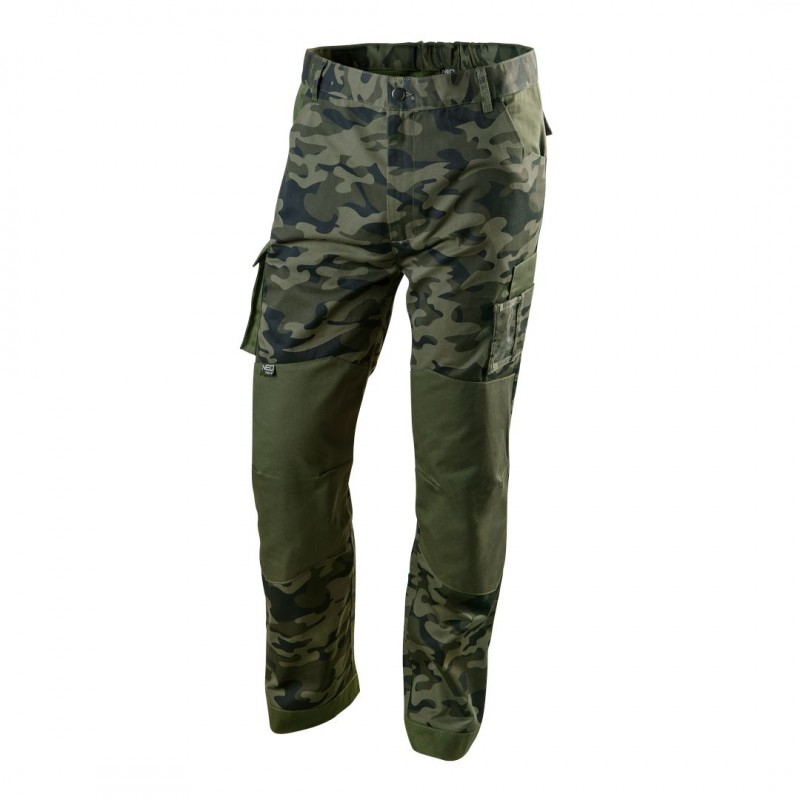 NEO TOOLS Παντελόνι εργασίας CAMO 255g/m³ 81-221