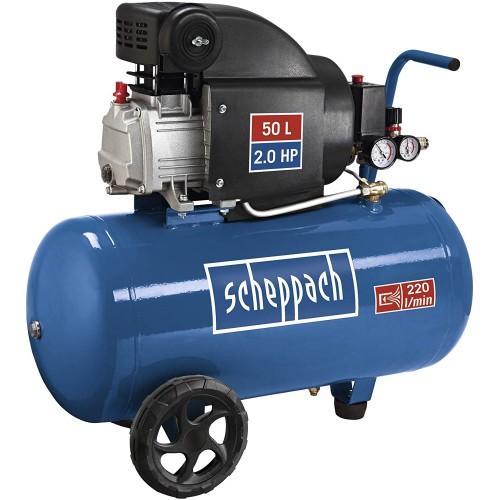 Scheppach αεροσυμπιεστής 2,0 Hp / 50 lt HC54