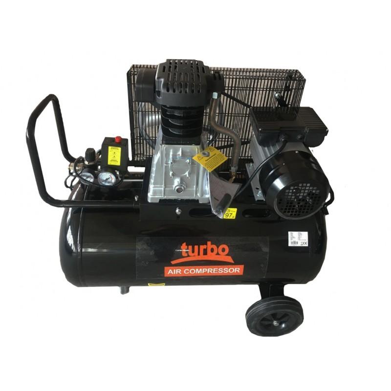 Turbo Αεροσυμπιεστής 3 HP, 100lt TRB100