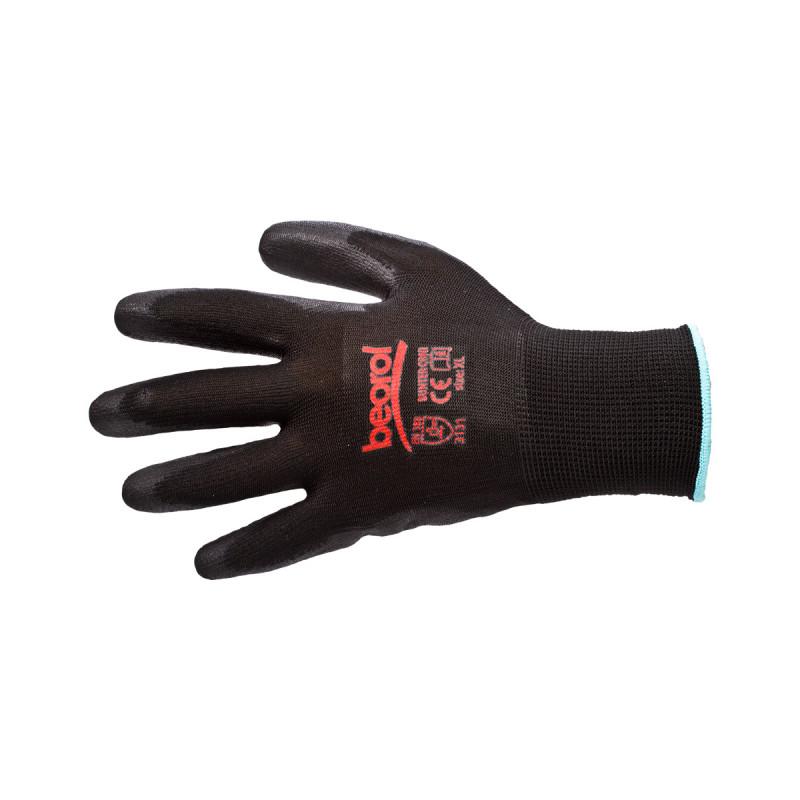 "Beorol RBUNCXL Γάντια πολυουρεθάνης Bunter Black 10""/XL"