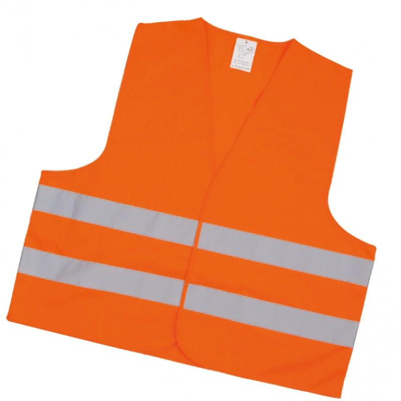 Inox Kiss Γιλέκο Αντανακλαστικό Πορτοκαλί 120GSM, 100% Polyester SAF2100