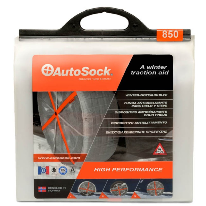 Αντιολισθητικά πανιά ελαστικών AUTOSOCK σετ 2 τεμαχίων Νο 850