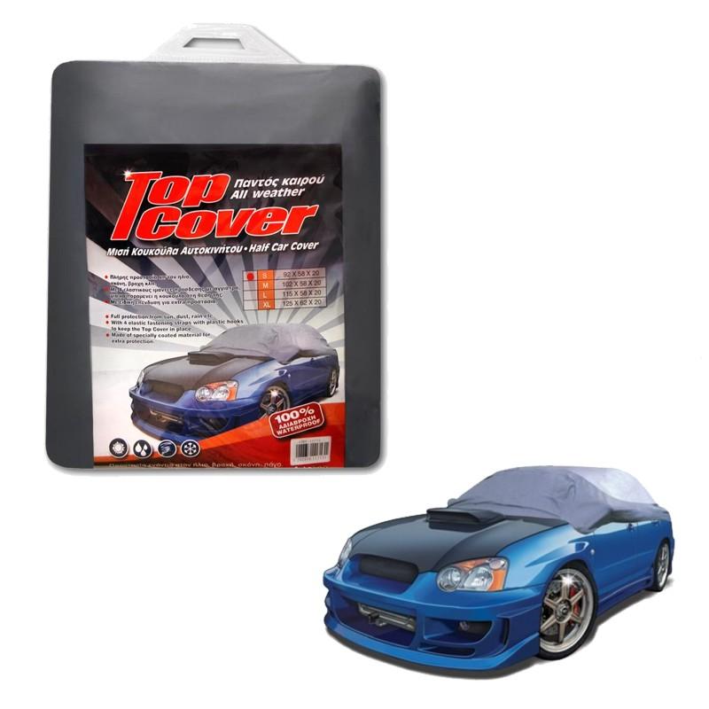 Κουκούλα αυτοκινήτου μισή TOP COVER Small (92x58x20)
