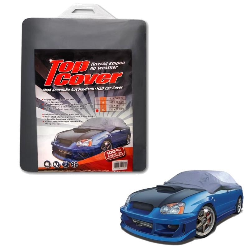 Κουκούλα αυτοκινήτου μισή TOP COVER XLarge (125x62x20)