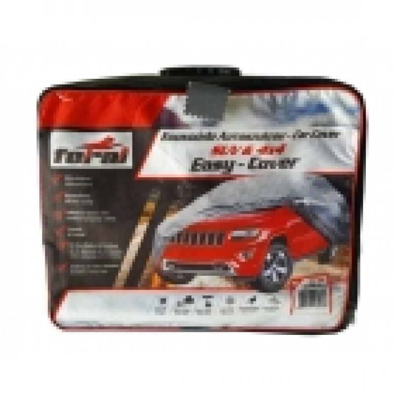Κουκούλα αυτοκινήτου 4x4 και SUV EASY COVER FERAL Medium (440cmx185cmx145cm)