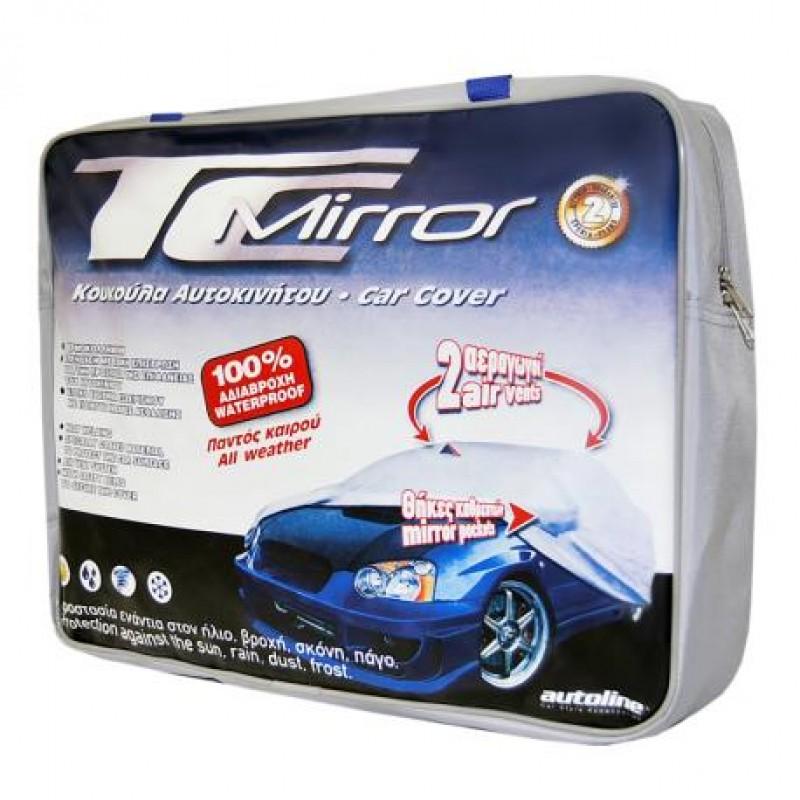Κουκούλα αυτοκινήτου TOP COVER  με υποδοχή για καθρέπτη Smart (No 1)