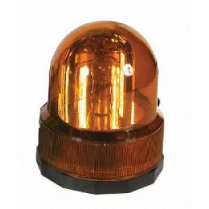 Autoline Φάρος Μαγνητικός 12V - Πορτοκαλί