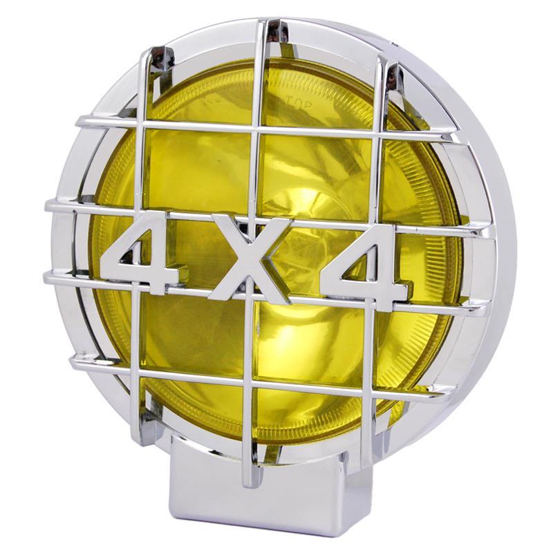 Προβολείς στρογγυλοί 4X4 κίτρινο φως 72008 (2 τεμάχια)