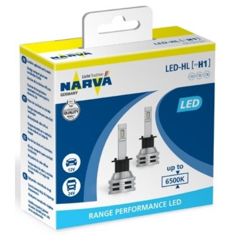 Narva H1 Led Range Performance 12V / 24V Set 2τμχ