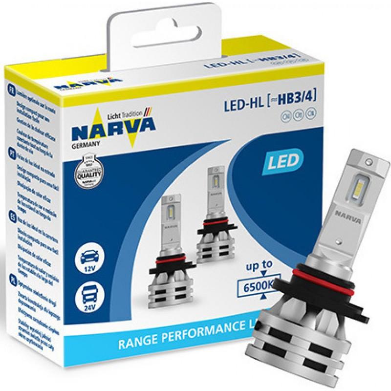 Narva HB3/HB4 Led Range Performance 12V / 24V Set 2τμχ