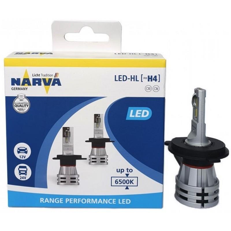 Narva H4 Led Range Performance 12V / 24V Set 2τμχ