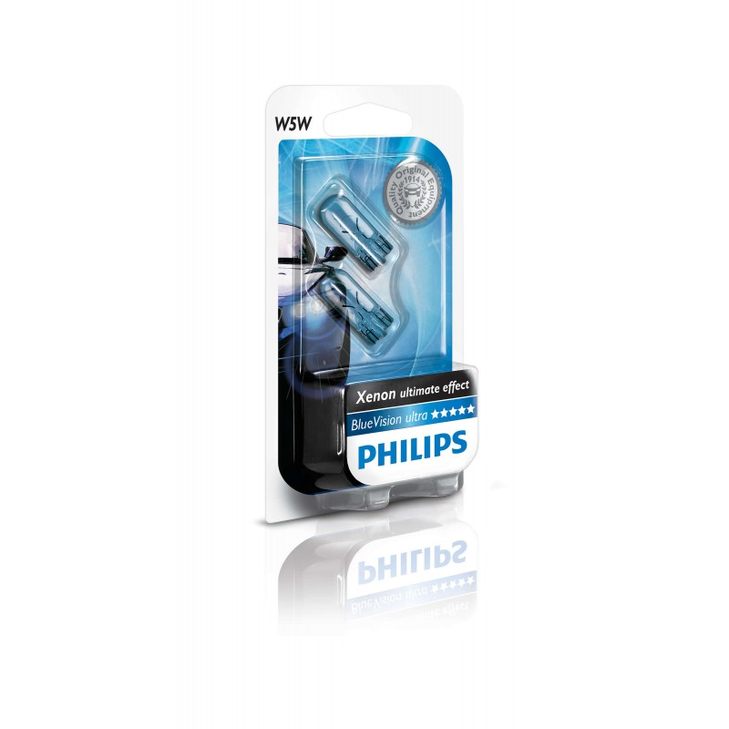 Philips W5W White Vision Ultra 12V 5W 4300K