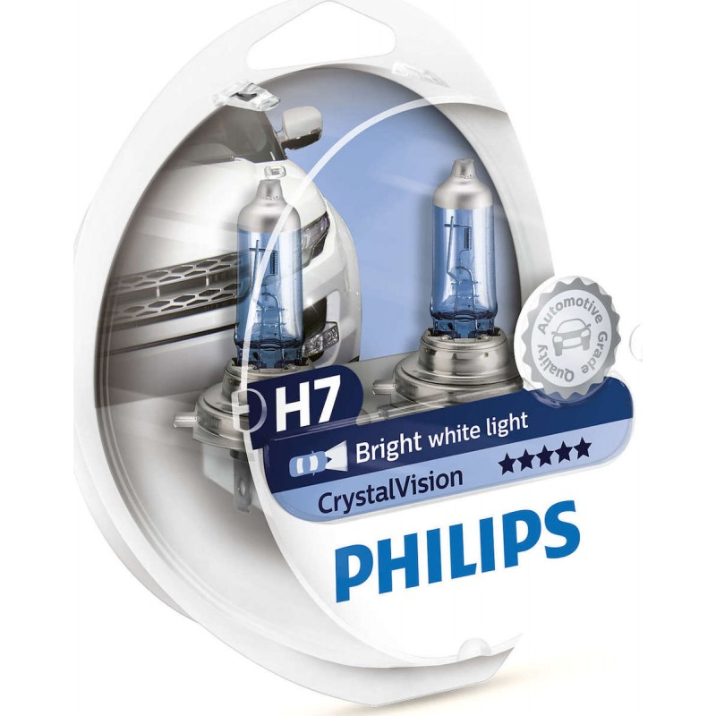 Philips H7 CRYSTAL Vision 12V 60/55W 4300K