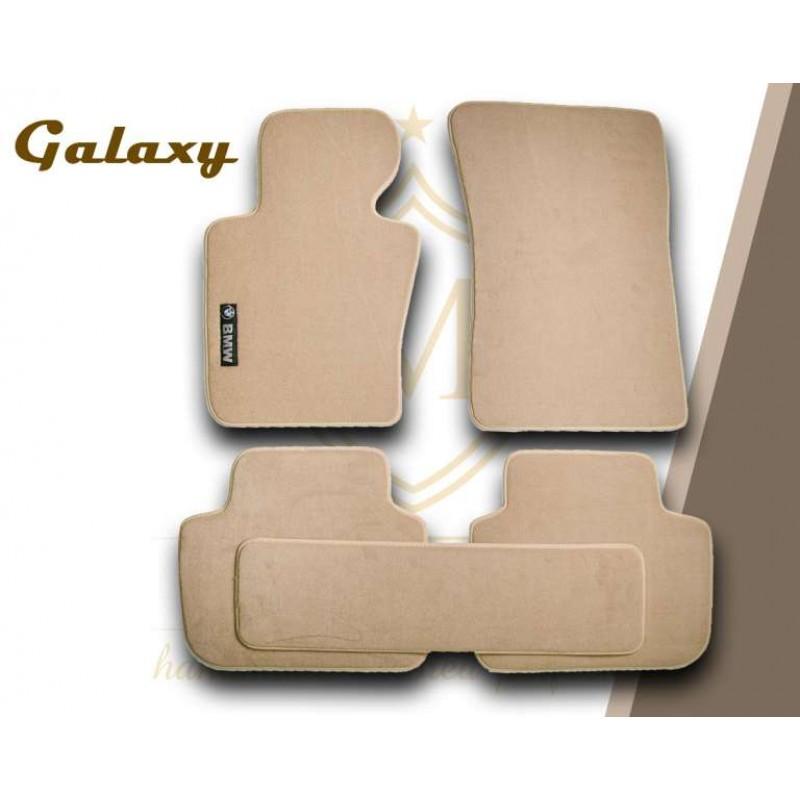 Πατάκια Galaxy - Μπεζ - Χειροποίητα ΣΕΤ