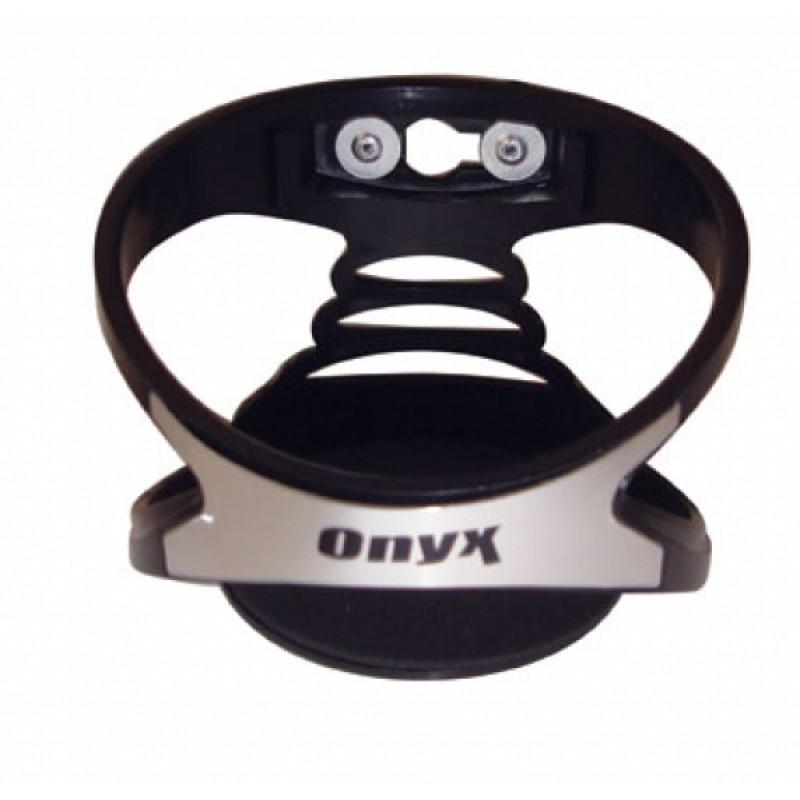 Ποτηροθήκη αεραγωγού ONYX x-type μαύρη