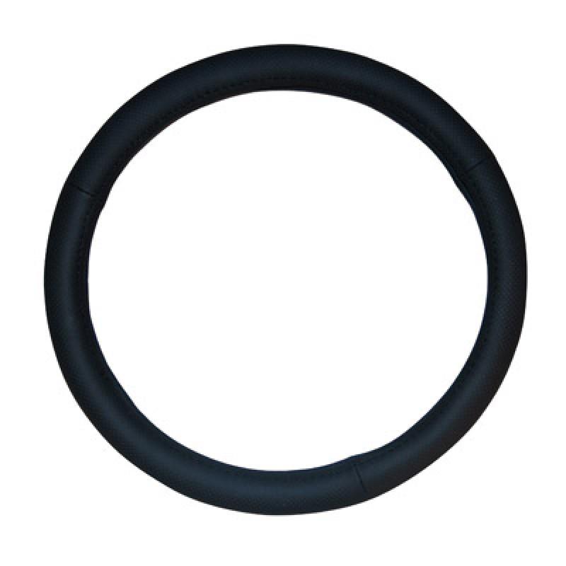 Κάλυμμα τιμονιού  δέρμα μαύρο  Autoline Swc 38cm