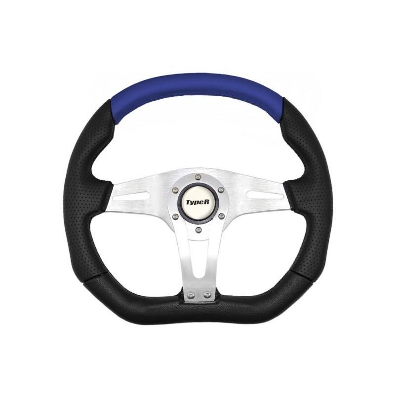 Τιμόνι τύπου  ISOTTA AUTOLINE μαύρο μπλε 1 τεμάχιο