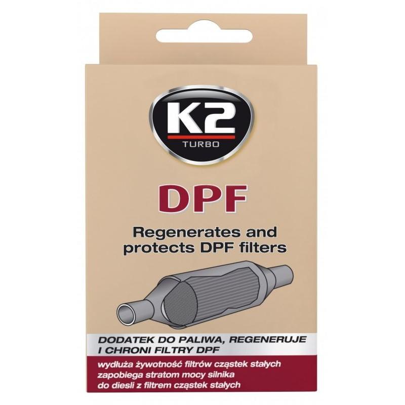 Πρόσθετο αναζωογόνησης φίλτρου σωματιδίων/κάπνας K2 DPF CARE 50ml