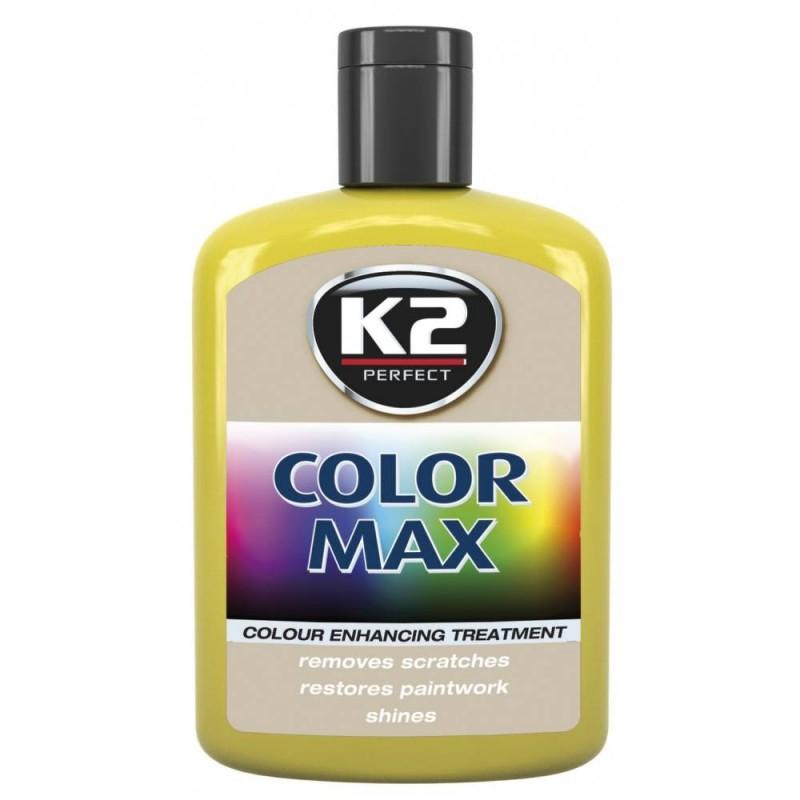 Κερί χρώματος κίτρινο K2 COLOUR WAX που επαναφέρει τη λάμψη και το χρώμα 200 ml