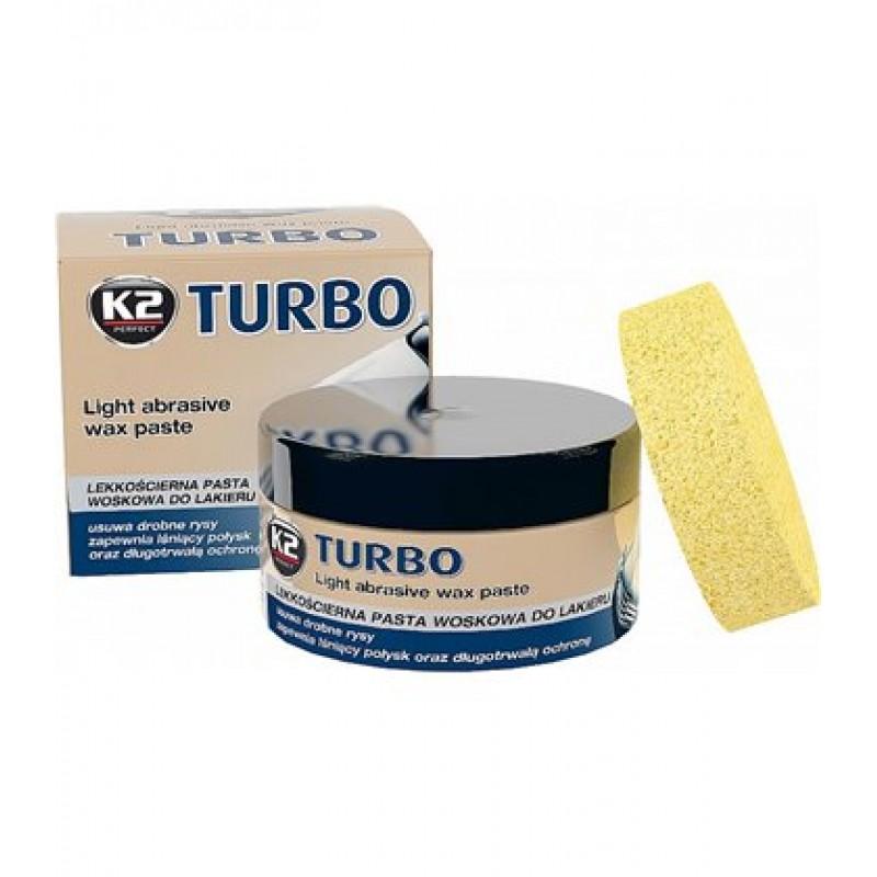 Κρέμα γυαλιστική και αφαιρετική γρατσουνιών K2 TURBO 250 gr
