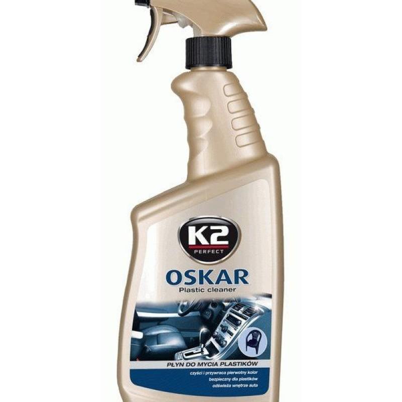 Καθαριστικό υγρό πλαστικών και δερμάτινων επιφανειών K2 OSKAR  770 ml