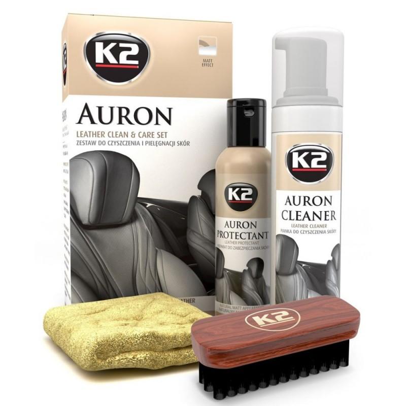 Καθαριστικό Δέρματος  ΣΕΤ AURON Κ2
