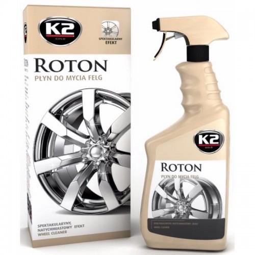Καθαριστικό γυαλιστικό υγρό ζαντών K2 ROTON 700ml