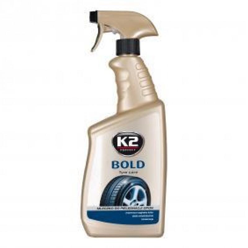 Γυαλιστικό υγρό K2 BOLD 700ml για συντήρηση των ελαστικών