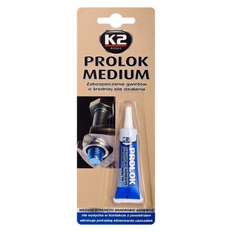 Κόλλα σπειρωμάτων μεσαίας αντοχής μπλε K2 PROLOK MEDIUM 243 6ml