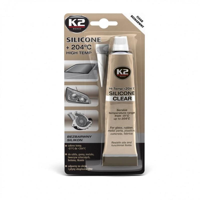 Σιλικόνη στεγανοποίησης διάφανη K2 85gr