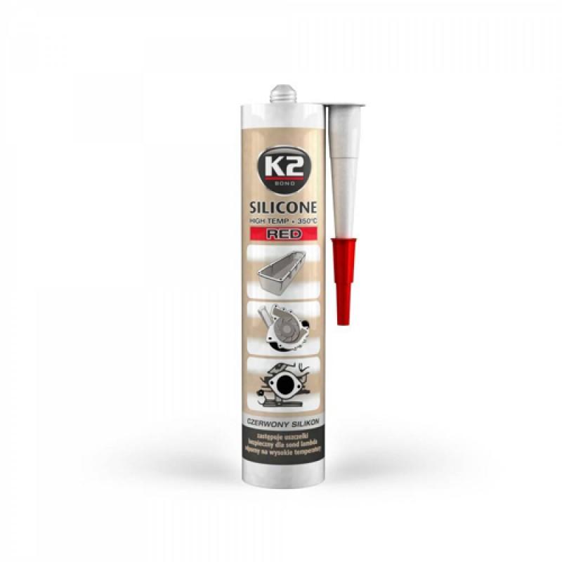 Σιλικόνη στεγανοποίησης κόκκινη K2 300gr