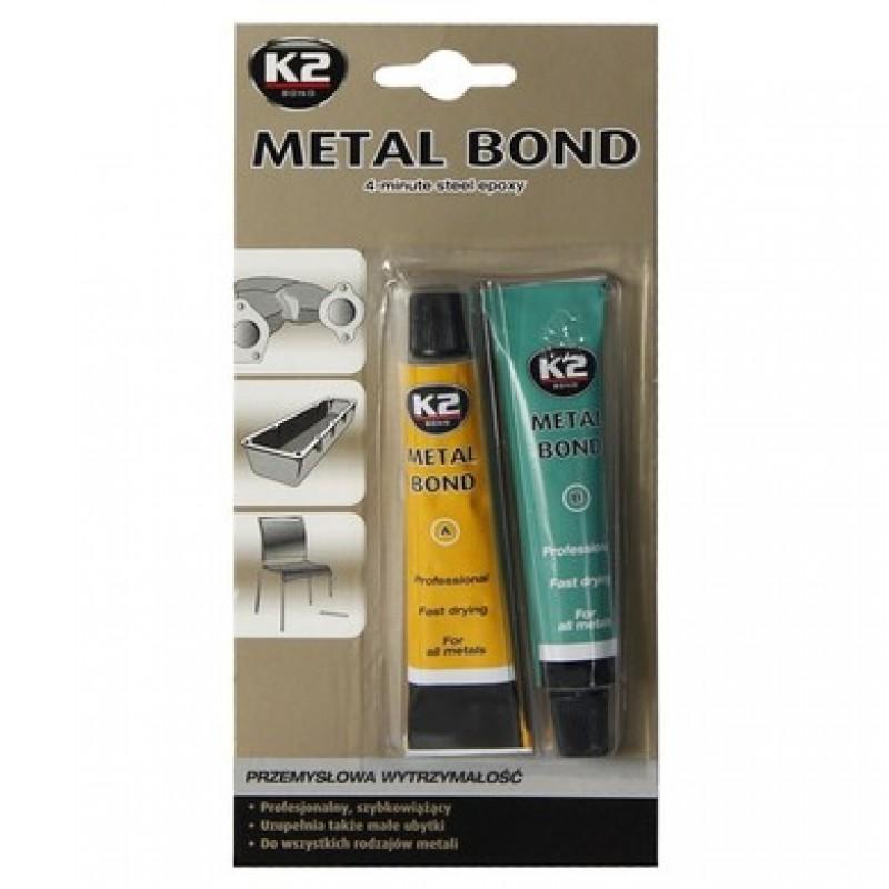 Κόλλα τύπου 2K-EPOXY K2 για ένωση μετάλλων βιομηχανικών προδιαγραφών 56gr